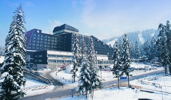 Ski School Borovets view to the hotel Samokov