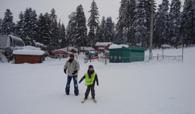 Ski Shool Borovets students